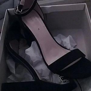 high block heel pumps